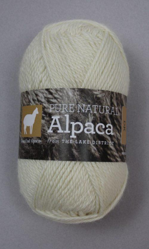 Britsh Alpaca DK Yarn Ivory