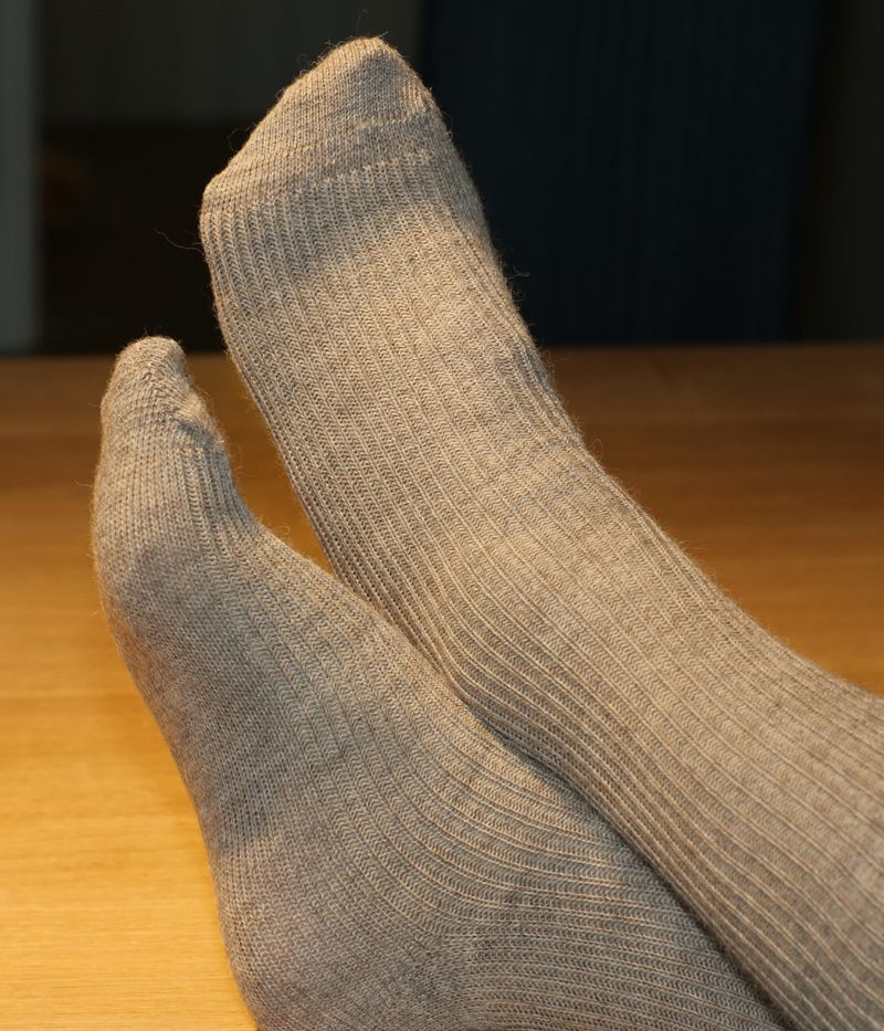 Fine Alpaca Socks