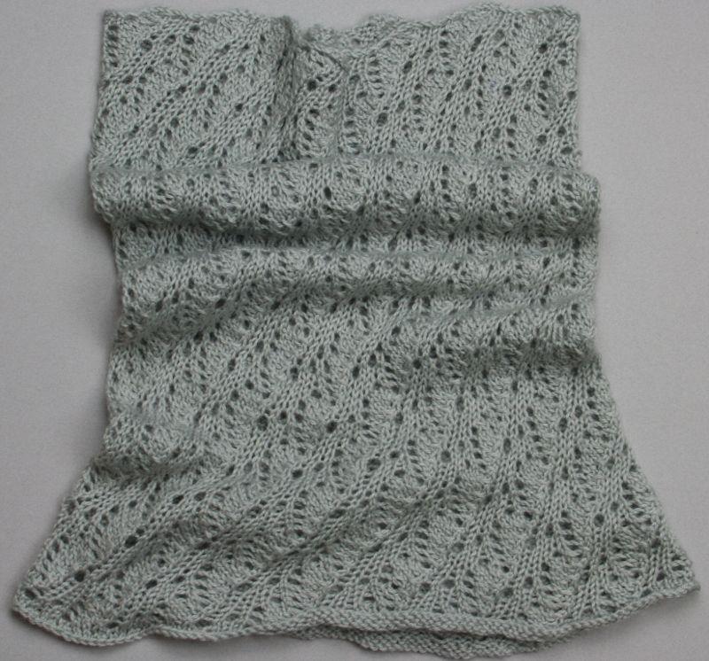 Cowl pattern Alpaca Fingering yarn