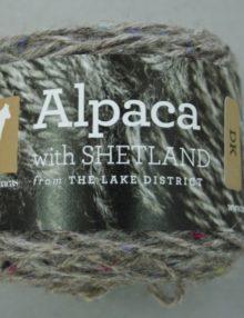 Alpaca with Shetland DK Roan Yarn