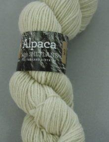 Alpaca with Shetland DK Yarn - Ivory