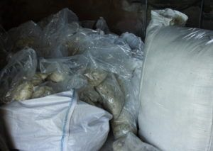 Bags of fleece