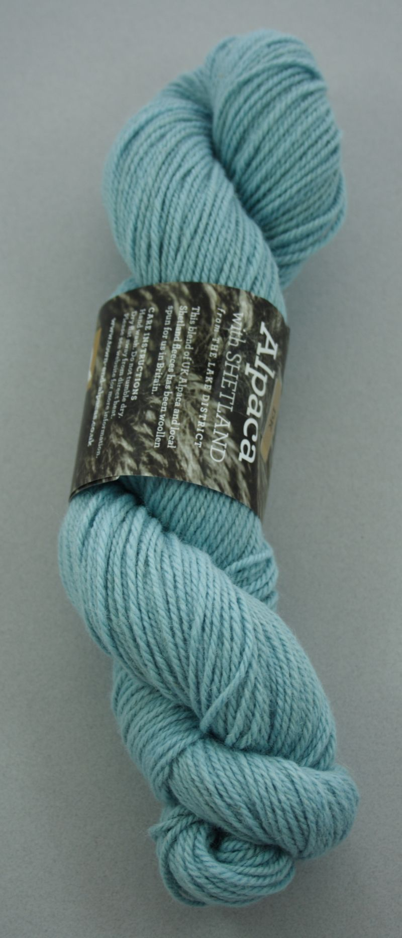 Alpaca DK yarn - blue