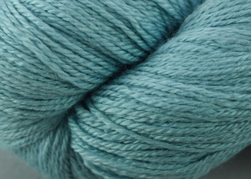 Alpaca sock yarn - blue