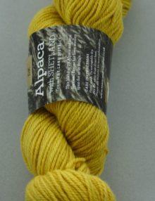 Alpaca DK yarn - gold