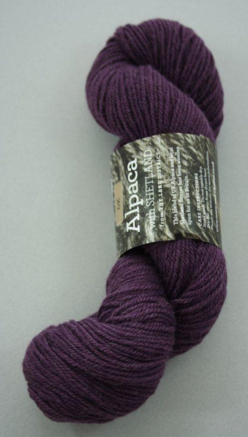 Alpaca DK yarn - grape