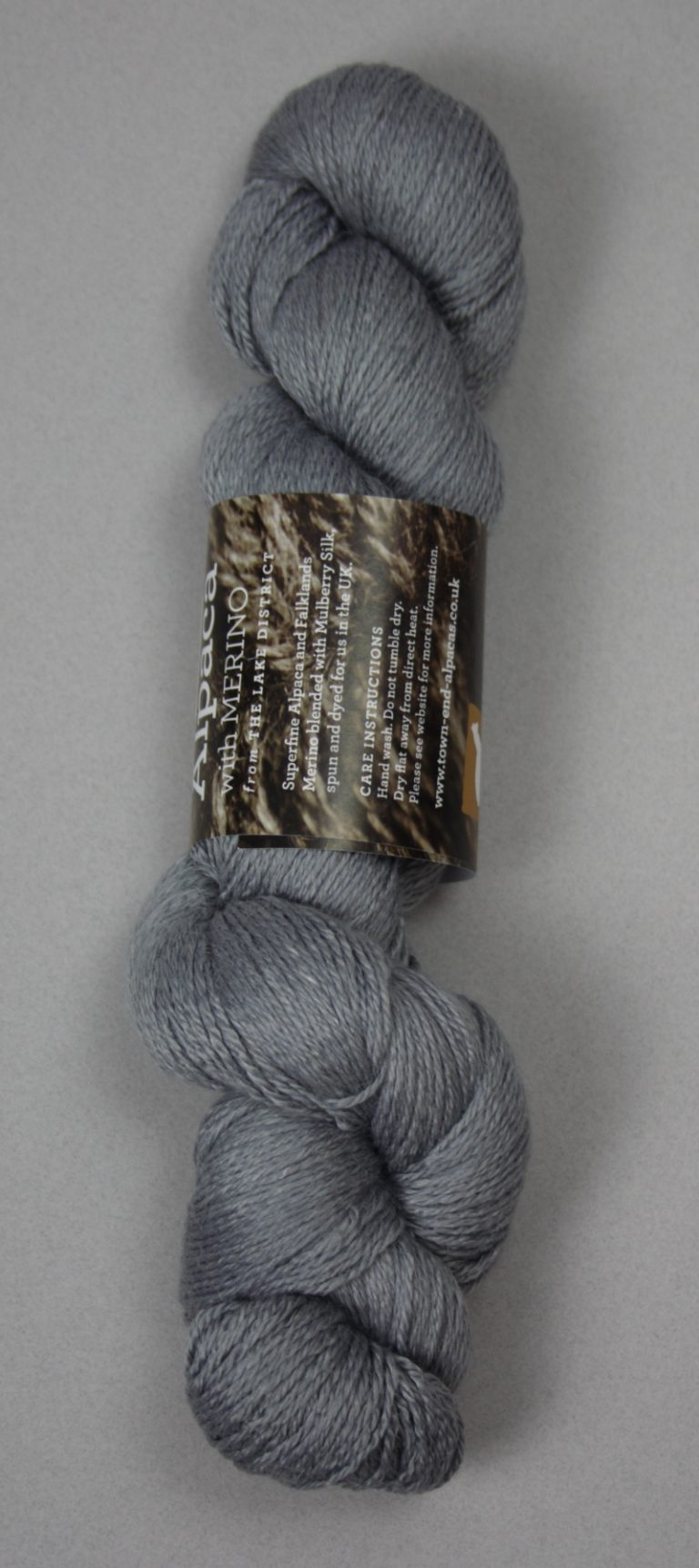 Whitbarrow alpaca fingering yarn.