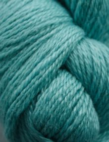 Whitbarrow Alpaca Fingering yarn - light teal