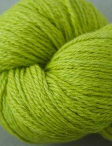 Alpaca fingering yarn - limey
