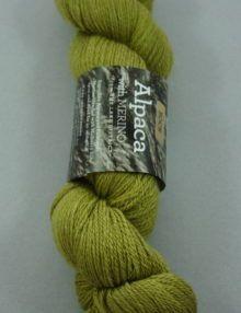 Alpaca Fingeruing yarn - olive lime
