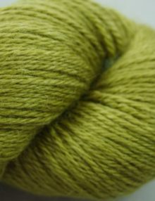 Alpaca Fingering yarn - olive lime