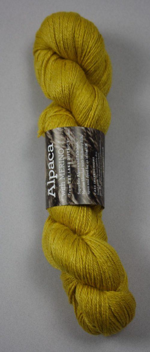 Gold Alpaca Fingering Yarn