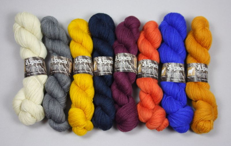 UK wool Alpaca Sock Yarn