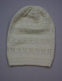 Alpaca beanie pattern