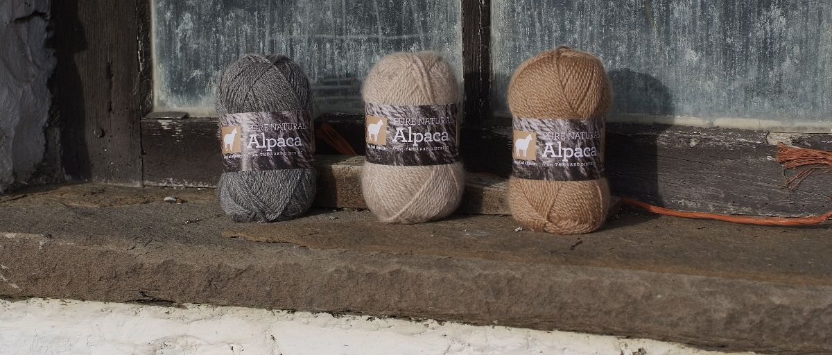 British Alpaca Knitting wool