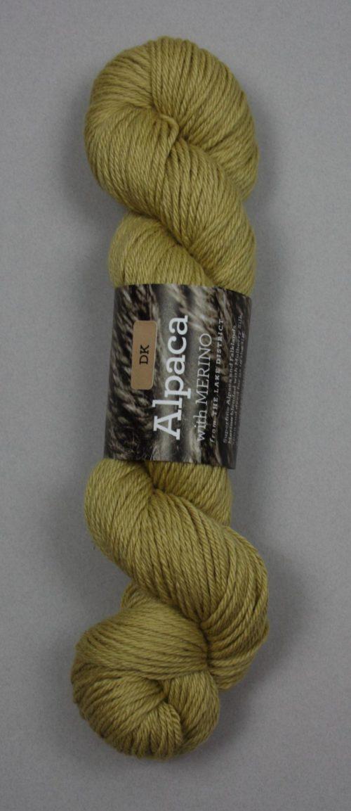 Alpaca DK Yarn yellow