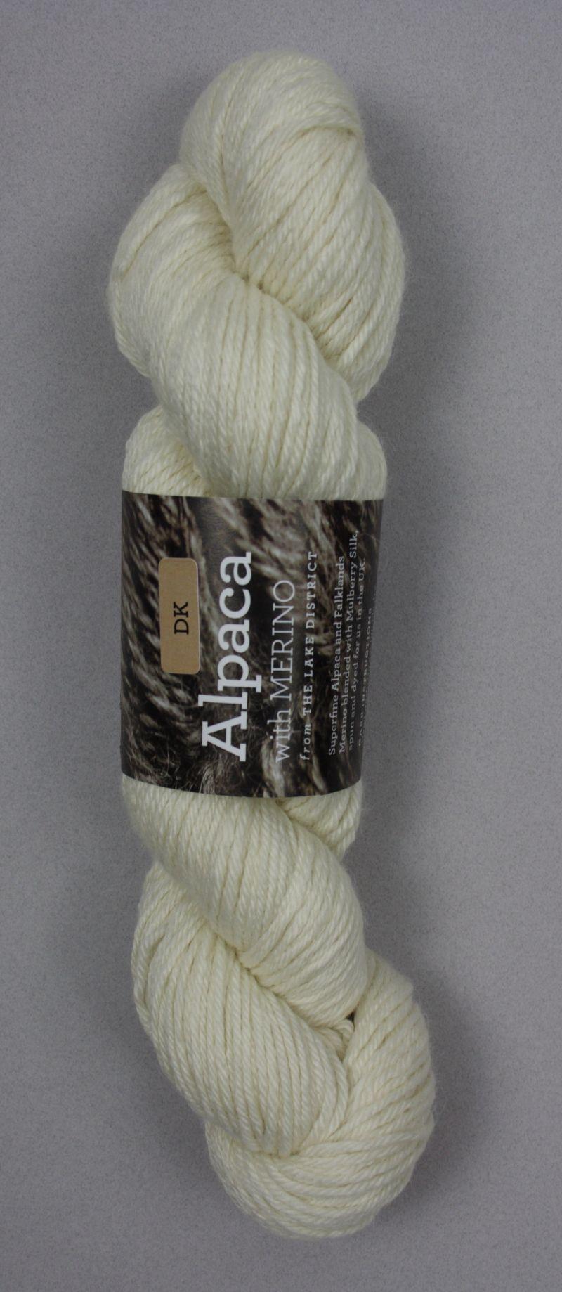 Alpaca DK Yarn White
