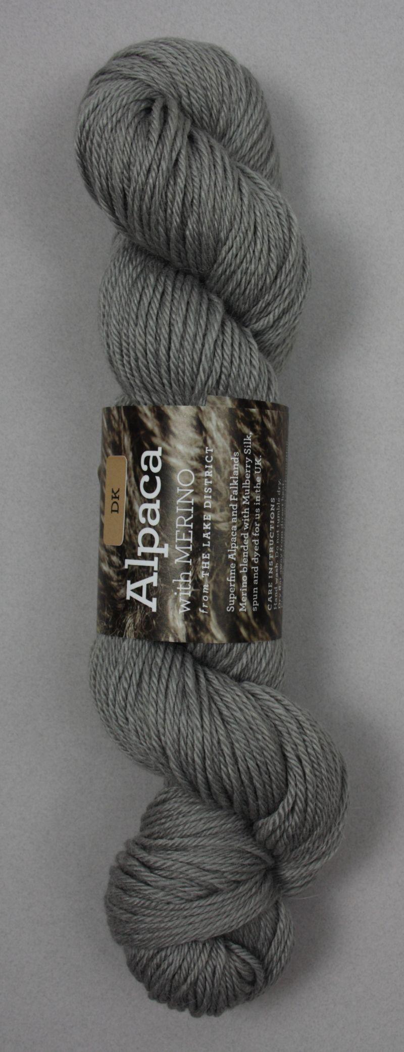 Alpaca DK Yarn Lilac/grey