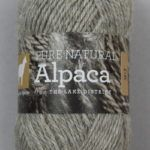British Alpaca DK Yarn Roan Grey