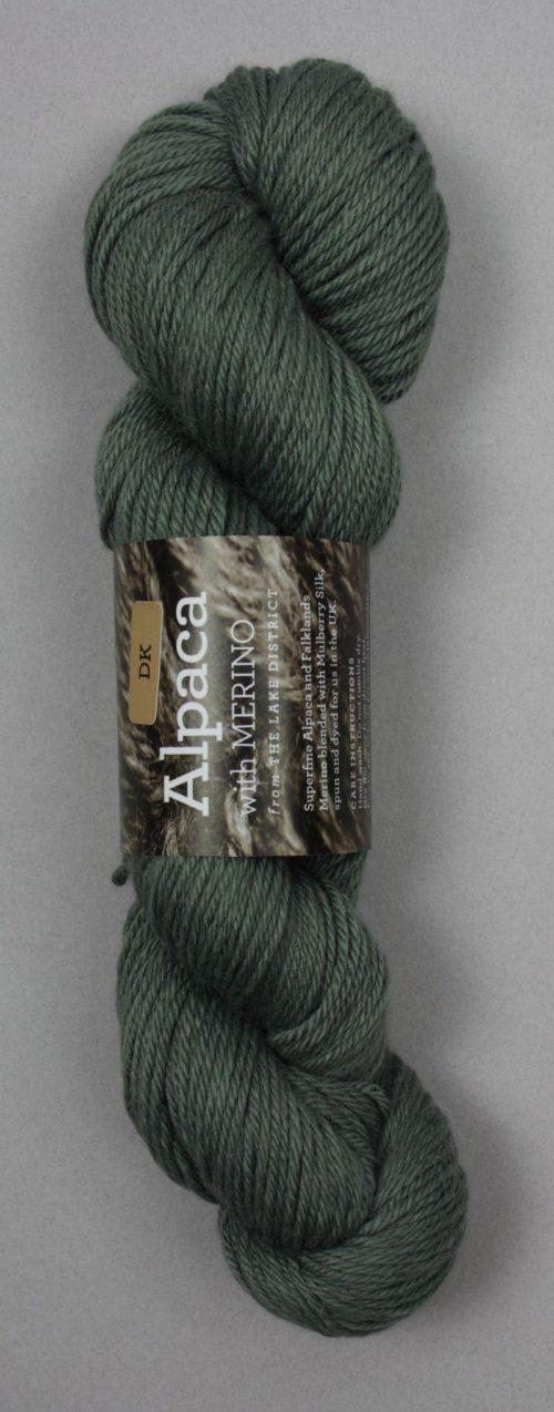 Alapaca DK Yarn Green