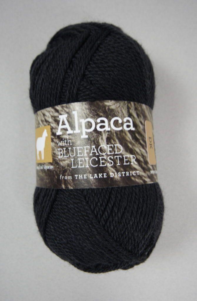 British Blue Faced Leicester & Alpaca DK wool