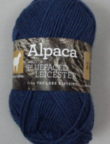British Blue Faced Leicester & Alpaca DK wool