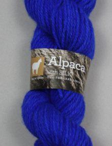 Chunky British alpaca with silk knitting wool
