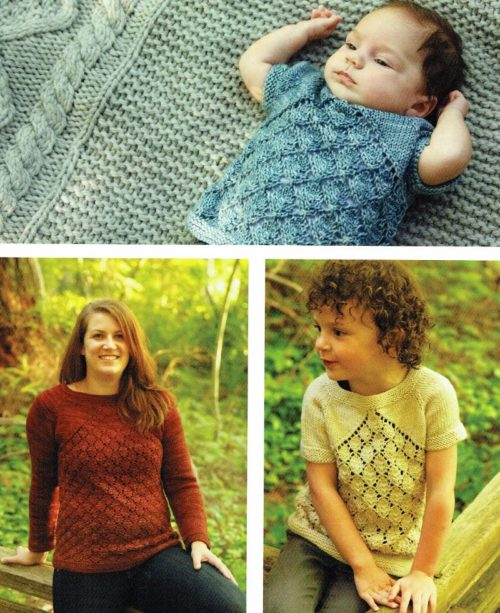 Prairie Fire modern lace panel pullover