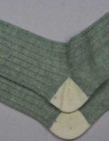 Alpaca Bed Socks Pastel Goose/Parch