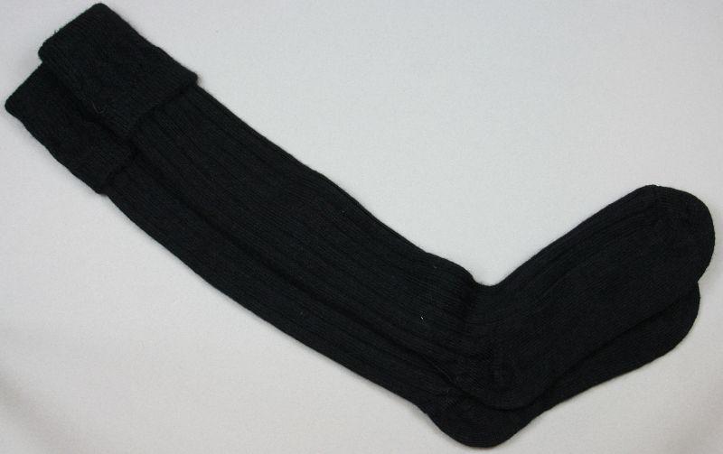 Alpaca Country Socks Black