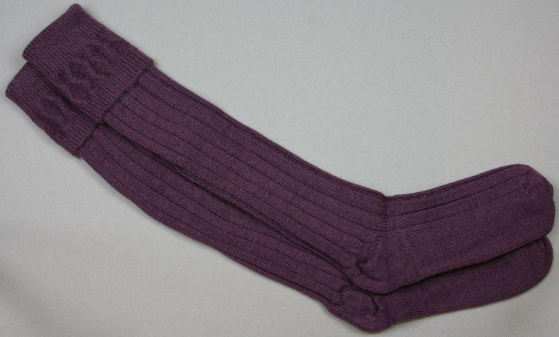 Alpaca Country Socks Damson