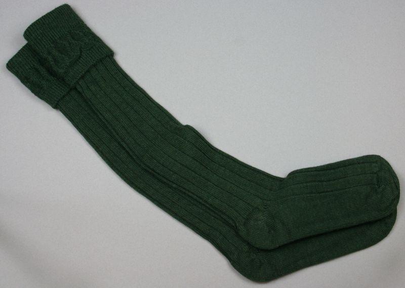 Alpaca Country Socks Dark Green