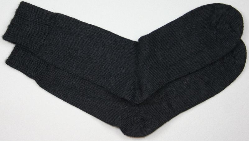 Alpaca Dress Sock Black