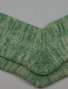 Alpaca Terry Loop Socks Sage Marl