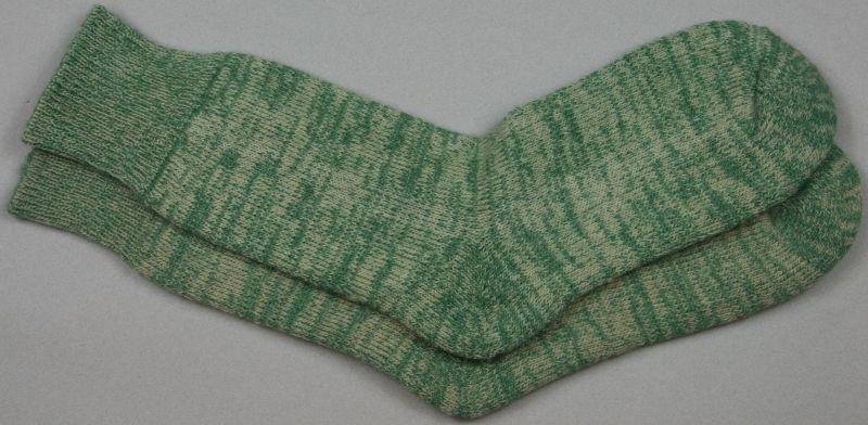 Alpaca Terry Loop Socks Sage Marl