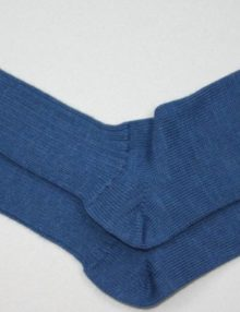 Alpaca Loose-top Socks Royal Blue