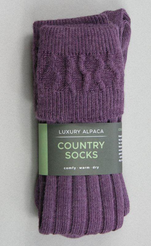 Alpaca Country Socks
