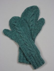Belinda mittens long version