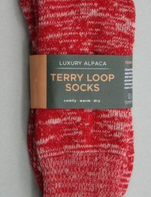 Terry Loop Socks