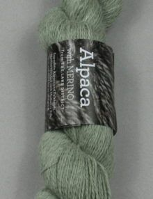 Alpaca Merino Light 3ply Green