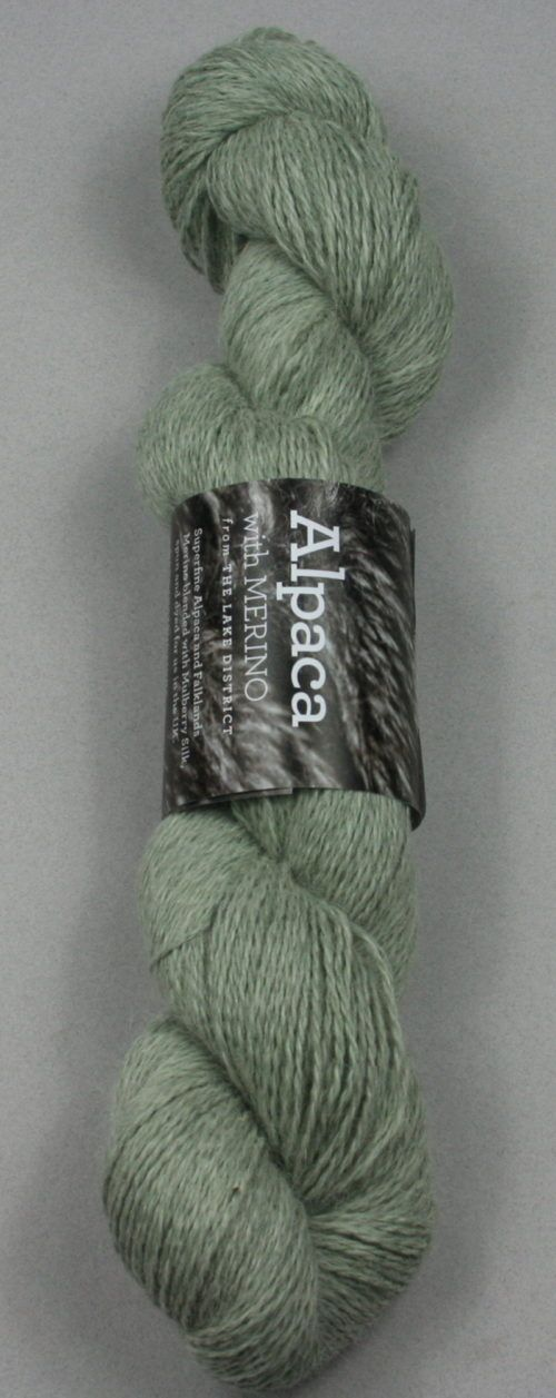 Alpaca Merino Light 3ply Green