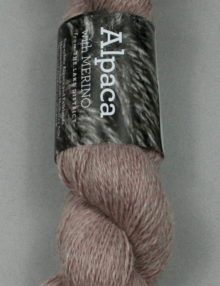 Alpaca Merino Light 3 ply Raspberry
