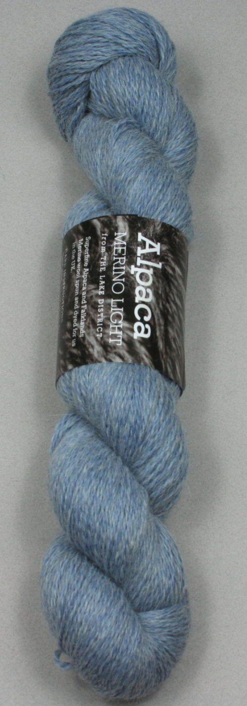 Alpaca Merino Light Blueberry