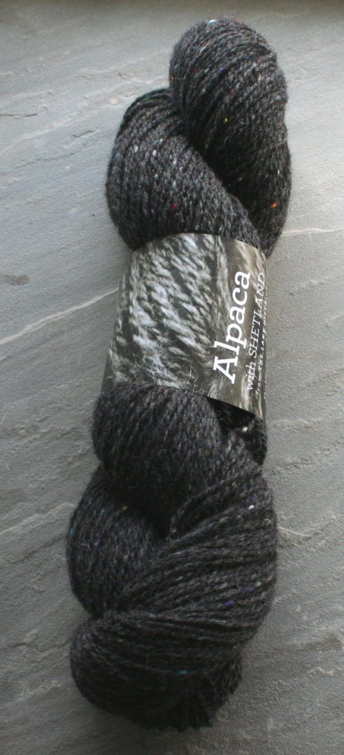 Charcoal Tweed 4-ply 133