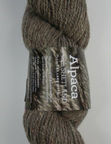 Alpaca Sherland 4ply tweed yarn
