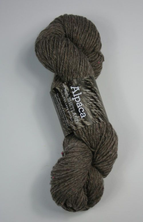 Alpaca with Shetland tweed DK yarn