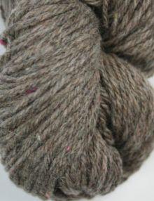 Alpaca Shetland Grey 4ply tweed yarn