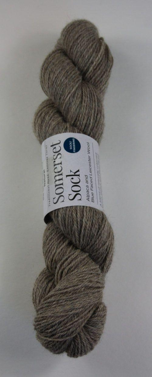 alpaca wool sock yarn natural