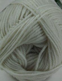 Merino 4ply yarn white