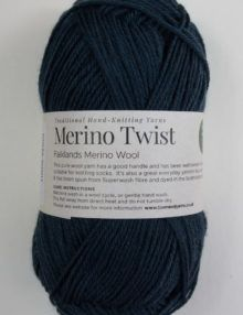 Merino 4ply yarn Green